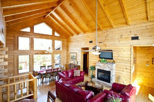 Smoky Mountain Cabin Rentals | Grand View | 5 Bedroom Cabin Rental | | Tellico  Plains | Tellico Bacation Rentals Cabin Rental In Tellico Plains, TN ...
